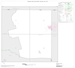 Primary view of object titled '2000 Census County Subdivison Block Map: McCaulley CCD, Texas, Index'.