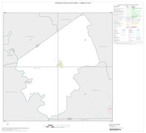 Primary view of object titled '2000 Census County Subdivison Block Map: Lometa CCD, Texas, Index'.