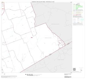 Primary view of object titled '2000 Census County Subdivison Block Map: Rockdale CCD, Texas, Block 6'.