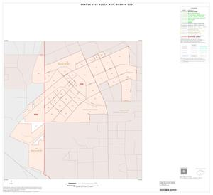 Primary view of object titled '2000 Census County Subdivison Block Map: Boerne CCD, Texas, Inset C01'.