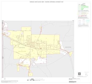 Primary view of object titled '2000 Census County Subdivison Block Map: Hughes Springs-Avinger CCD, Texas, Inset A01'.