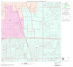 Primary view of object titled '2000 Census County Subdivison Block Map: Northeast CCD, Texas, Block 11'.