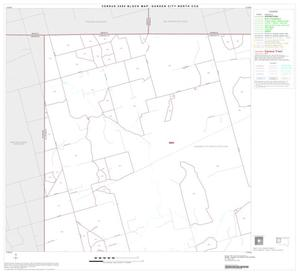 Primary view of object titled '2000 Census County Subdivison Block Map: Garden City North CCD, Texas, Block 1'.
