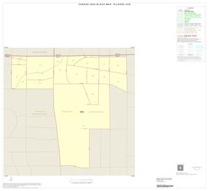Primary view of object titled '2000 Census County Subdivison Block Map: Kilgore CCD, Texas, Inset A01'.