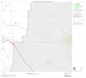 Primary view of object titled '2000 Census County Subdivison Block Map: Hondo CCD, Texas, Block 9'.