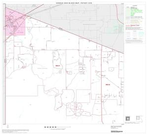 Primary view of object titled '2000 Census County Subdivison Block Map: Poteet CCD, Texas, Block 1'.