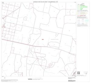 Primary view of object titled '2000 Census County Subdivison Block Map: Balmorhea CCD, Texas, Block 7'.