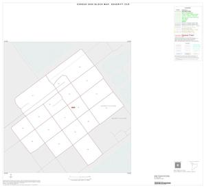 Primary view of object titled '2000 Census County Subdivison Block Map: Seadrift CCD, Texas, Inset A01'.