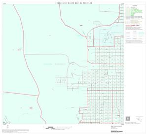 Primary view of object titled '2000 Census County Subdivison Block Map: El Paso CCD, Texas, Block 16'.