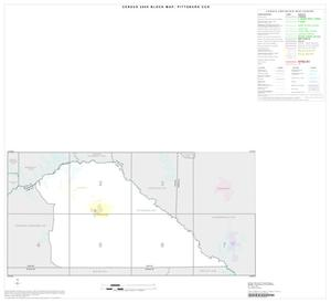 Primary view of object titled '2000 Census County Subdivison Block Map: Pittsburg CCD, Texas, Index'.
