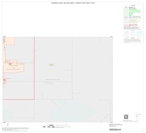 Primary view of object titled '2000 Census County Subdivison Block Map: Perryton East CCD, Texas, Inset A04'.