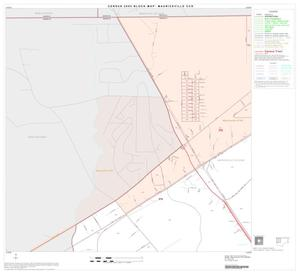 Primary view of object titled '2000 Census County Subdivison Block Map: Mauriceville CCD, Texas, Block 1'.