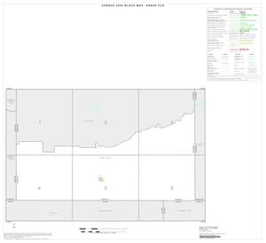 Primary view of object titled '2000 Census County Subdivison Block Map: Kress CCD, Texas, Index'.