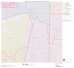 Primary view of object titled '2000 Census County Subdivison Block Map: Northeast Tarrant CCD, Texas, Block 20'.