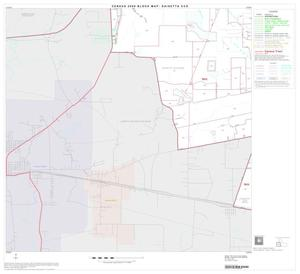 Primary view of object titled '2000 Census County Subdivison Block Map: Daisetta CCD, Texas, Block 3'.