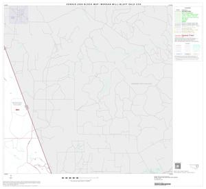 Primary view of object titled '2000 Census County Subdivison Block Map: Morgan Mill-Bluff Dale CCD, Texas, Block 4'.