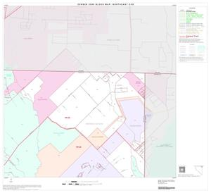 Primary view of object titled '2000 Census County Subdivison Block Map: Northeast CCD, Texas, Block 8'.