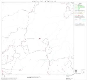 Primary view of object titled '2000 Census County Subdivison Block Map: Fort Davis CCD, Texas, Block 10'.