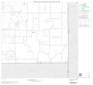 Primary view of object titled '2000 Census County Subdivison Block Map: Bellevue-Joy CCD, Texas, Block 7'.