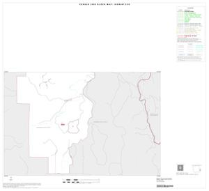 Primary view of object titled '2000 Census County Subdivison Block Map: Ingram CCD, Texas, Inset B02'.