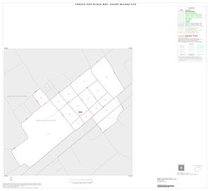 Primary view of object titled '2000 Census County Subdivison Block Map: Gause-Milano CCD, Texas, Inset A01'.