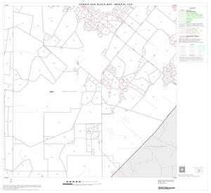 Primary view of object titled '2000 Census County Subdivison Block Map: Imperial CCD, Texas, Block 8'.