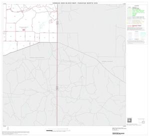 Primary view of object titled '2000 Census County Subdivison Block Map: Paducah North CCD, Texas, Block 6'.