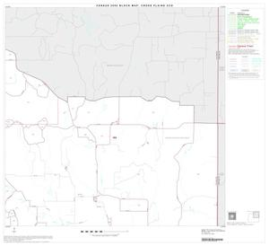 Primary view of object titled '2000 Census County Subdivison Block Map: Cross Plains CCD, Texas, Block 2'.