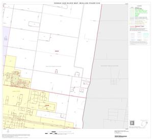 Primary view of object titled '2000 Census County Subdivison Block Map: McAllen-Pharr CCD, Texas, Block 9'.