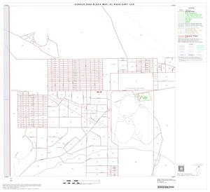 Primary view of object titled '2000 Census County Subdivison Block Map: El Paso East CCD, Texas, Block 3'.