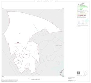 Primary view of object titled '2000 Census County Subdivison Block Map: Meridian CCD, Texas, Inset D01'.