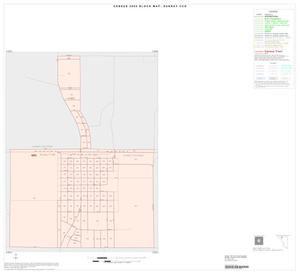 Primary view of object titled '2000 Census County Subdivison Block Map: Sunray CCD, Texas, Inset A01'.