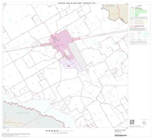 Primary view of object titled '2000 Census County Subdivison Block Map: Kerens CCD, Texas, Block 4'.