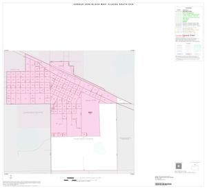 Primary view of object titled '2000 Census County Subdivison Block Map: Claude South CCD, Texas, Inset A01'.