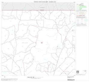 Primary view of object titled '2000 Census County Subdivison Block Map: Albany CCD, Texas, Block 3'.