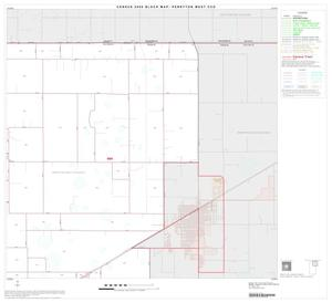 Primary view of object titled '2000 Census County Subdivison Block Map: Perryton West CCD, Texas, Block 2'.