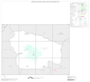 Primary view of object titled '2000 Census County Subdivison Block Map: Sulphur Springs CCD, Texas, Index'.