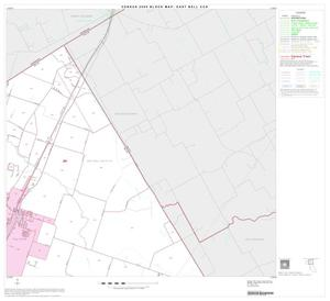 Primary view of object titled '2000 Census County Subdivison Block Map: East Bell CCD, Texas, Block 2'.