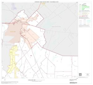 Primary view of object titled '2000 Census County Subdivison Block Map: Kaufman CCD, Texas, Block 2'.