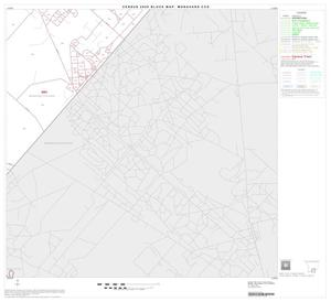 Primary view of object titled '2000 Census County Subdivison Block Map: Monahans CCD, Texas, Block 11'.