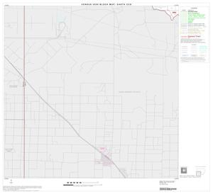 Primary view of object titled '2000 Census County Subdivison Block Map: Earth CCD, Texas, Block 3'.