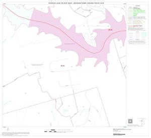 Primary view of object titled '2000 Census County Subdivison Block Map: Georgetown-Round Rock CCD, Texas, Block 8'.