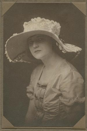 [Photograph of Frances Sharpe]