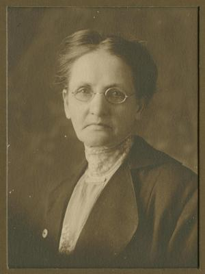 [Photograph of Mrs. Gus Brown]