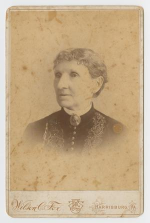 Primary view of object titled '[Photograph of Mary Jane Fleager]'.
