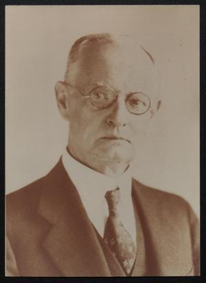 [Portrait of Reverend Thomas Marshall Hunter]