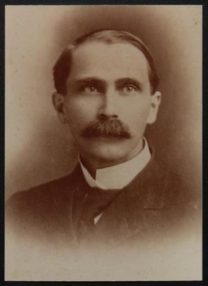 [Portrait of Reverend Frank Ernest Robbins]