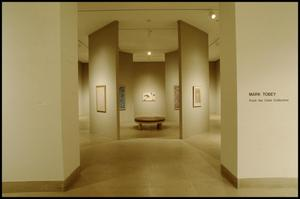 Primary view of object titled 'Mark Tobey From the Clark Collection [Exhibition Photographs]'.