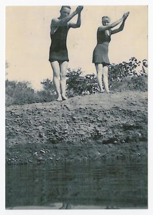 Primary view of [Lambuth Miller and Kate Hemphill at Lovers' Retreat]