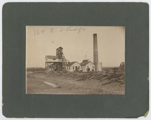 Primary view of object titled '[Number 2 Coal Shaft in Lyra, Texas]'.